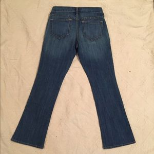 Old Navy Diva boot cut jeans, size 2short.